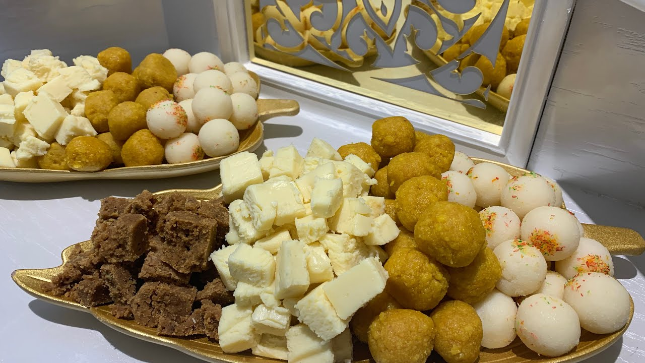حلويات ابونار لضيافة العيد Youtube