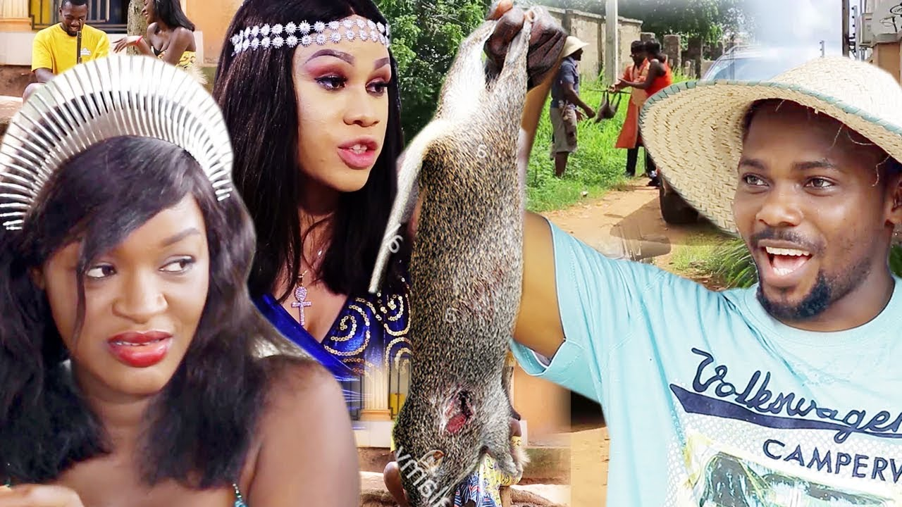 Download The 2 Princess & The Village Hunter Complete 1&2 - Chacha Eke 2019 Latest Nigerian Movie