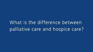 Scripps Health: What Is Palliative Care?
