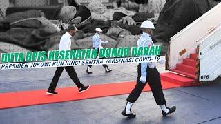 Action Eps #8   Kunjungan Jokowi ke Sentra Vaksinasi Covid-19, Aksi donor darah Duta BPJS Kesehatan