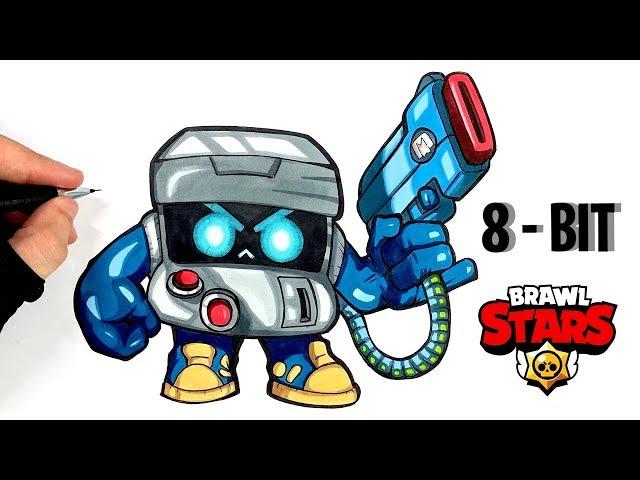 Tuto Dessin Arcade 8 Bit De Brawl Stars Youtube