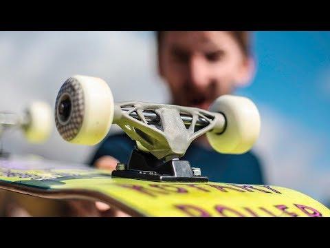 3D Printed Aluminum Trucks | Skate Everything