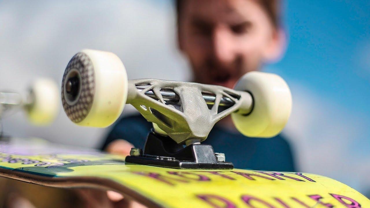 3D Printed Aluminum Trucks   Skate Everything