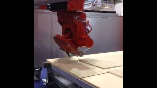 breton worthy cnc bridge saw with rotating head and fixed workbench no foundations