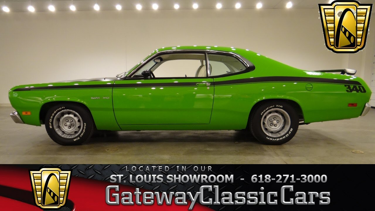 Cars 30k >> 1970 Plymouth Duster - Gateway Classic Cars St. Louis ...