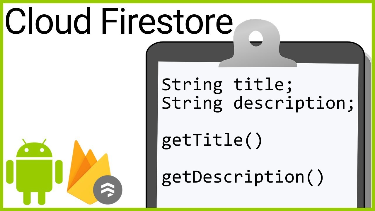 Firestore Tutorial Part 7 - CUSTOM JAVA OBJECT - Android Studio Tutorial