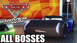 Cars 3 Driven To Win Movie Game All Bosses