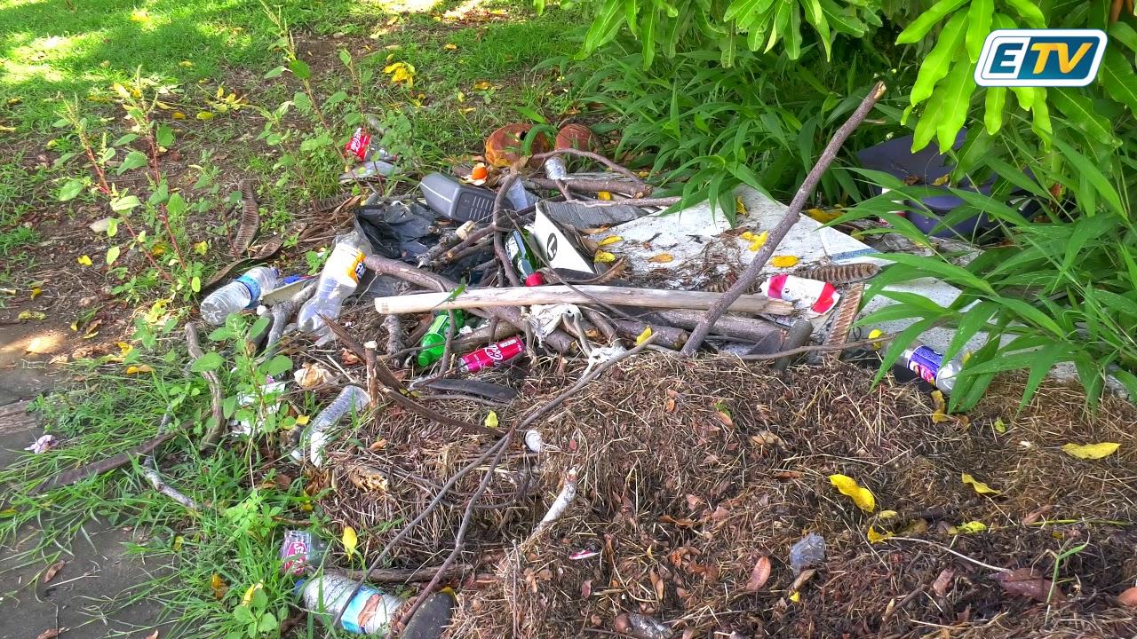 Goyave: l'abandon de certains espaces du domaine public agace plusieurs citoyens