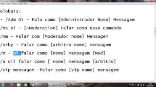 comandos no transformice para smod mapcrew mod adm e etc