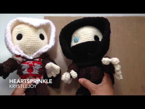 Amigurumi Sackboy: Ezio And Garrett