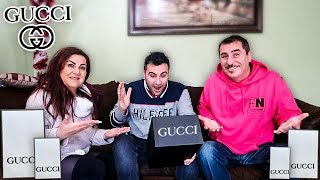 Surprising my Brother with an early Christmas Gift**Gucci**