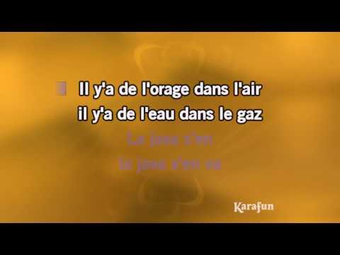 Karaoké Le Jazz et la Java (Live acoustique) - Florent Pagny *