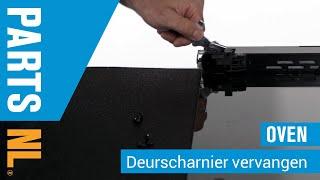 Deurscharnieren vervangen van oven of fornuis, PartsNL uitleg