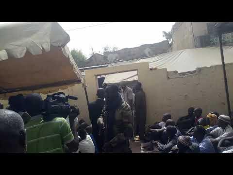 La Cominite chiites de kayes Cheick Mandiaye Barro arrive de chérif Ali Haidara alla Djouma akayes o
