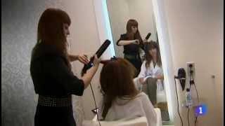 Cambio de look de Pastora Soler en el programa 'Solo Moda' de TVE