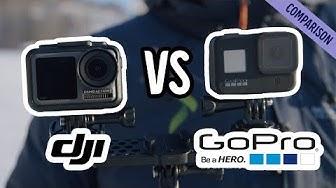 GoPro HERO8 vs. DJI Osmo Action - vertailu jaetulla näytöllä