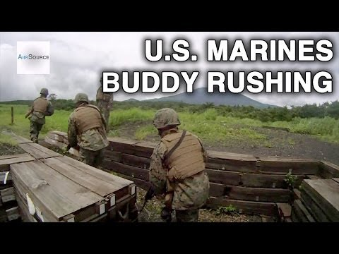 Helmet Cam: U.S. Marines - Buddy Rushing. Part 1 of 2