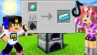 Майнкрафт но проверка БЕЗУМНЫХ ЛАЙФХАКОВ из ТИК-ТОКА в Майнкрафте Троллинг Ловушка Minecraft