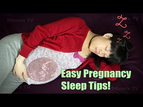 10 Best Tips For Pregnant Mom To Sleep Well, Fast & Easily. **DEEP SLEEP FOR BEST PREGNANCY**