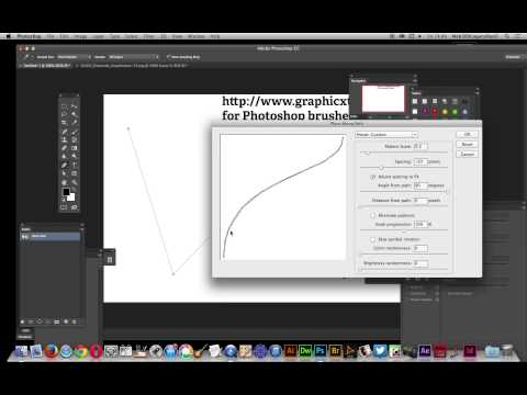 Photoshop CC  : Images Applied To Paths