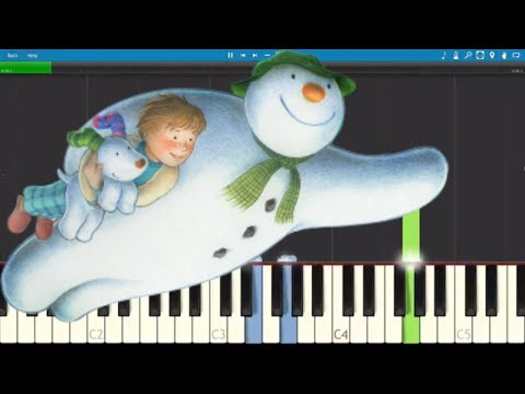 Walking In The Air - The Snowman - Piano Tutorial / Cover