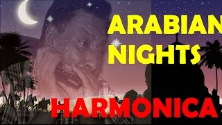 "Arabian nights Belly dance music ""Misirlou Indian version on mouth organ harmonica"