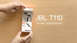Bass on a Budget? | JBL T110 Review & Unboxing