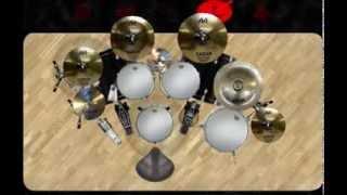 DvDrum 2 : EdanE - Kau Pikir Kaulah Segalanya (virtual drum cover)