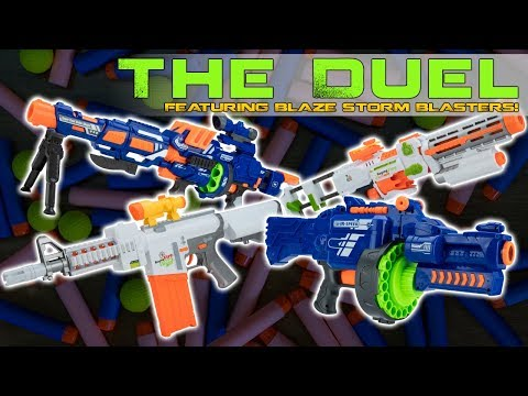 The Duel - Featuring the Blaze Storm Foam Blasters