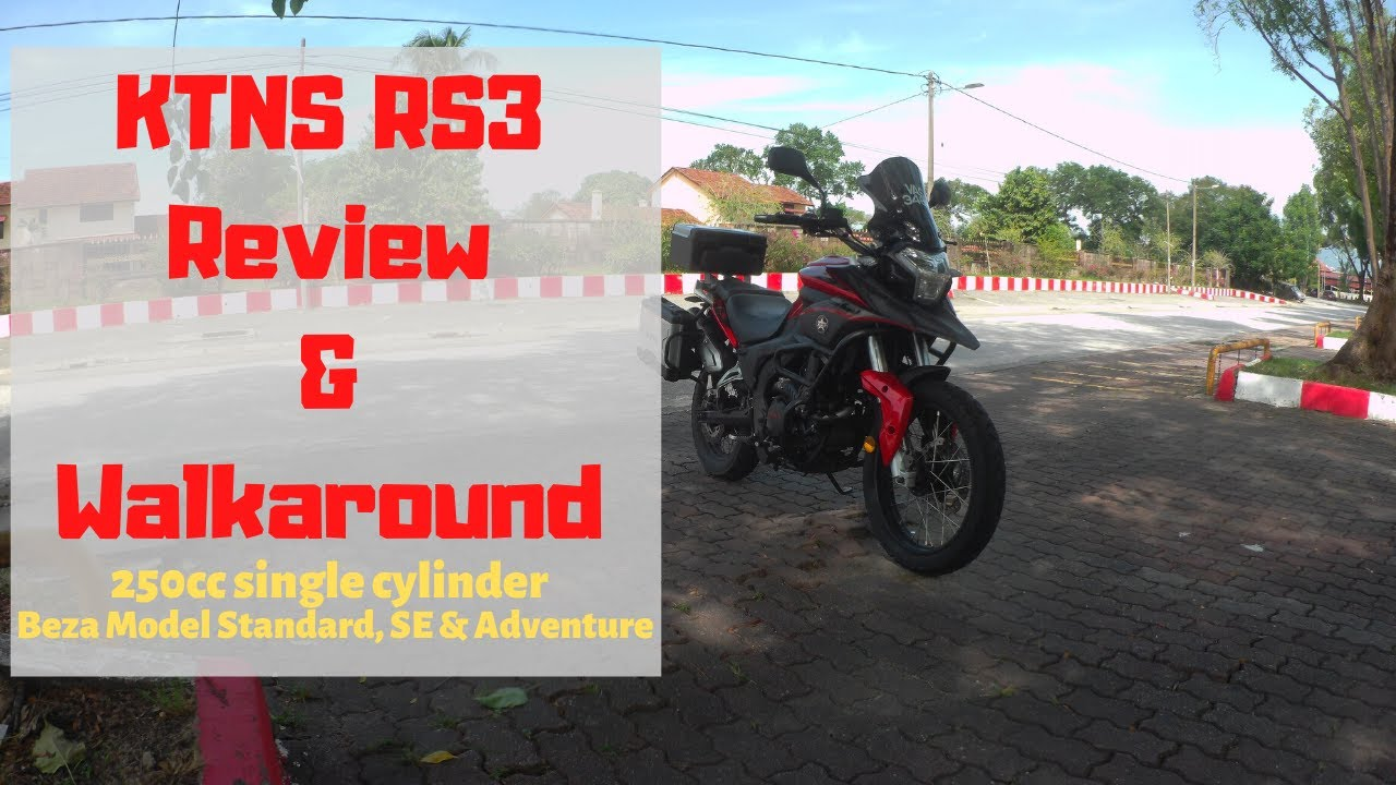 2020 KTNS RS3 DH Facelift GS Design 3BOX | New Motorcycles