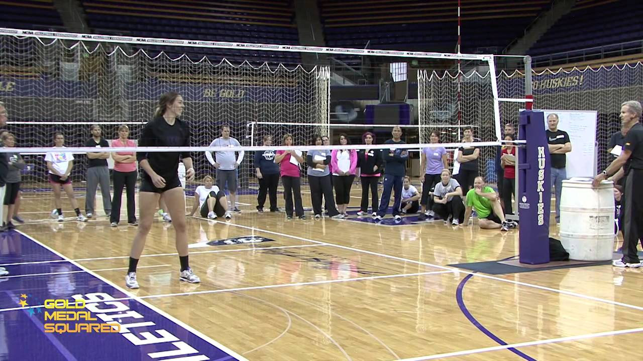 Transition Footwork - Gold Medal Squared Volleyball Cam ...