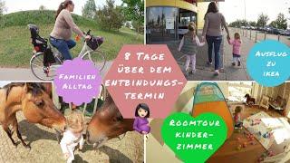 8 Tage über Entbindungstermin |Ausflug zu IKEA |Familien-VLOG