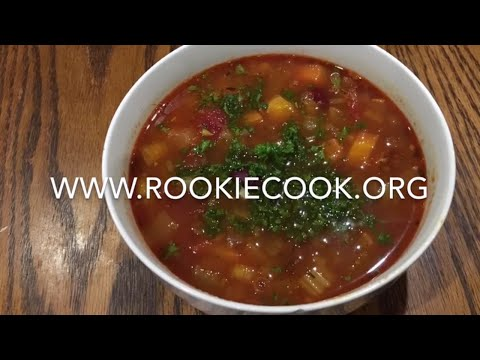 Chorizo And Kidney Bean Soup