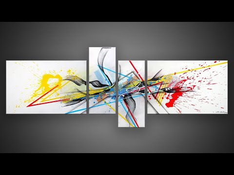 Free Abstract Painting Lessons - Learning abstract art with online