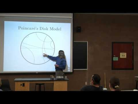 Non-Euclidean Geometry & the Shape of Space - Tony Weathers - May 2, 2013