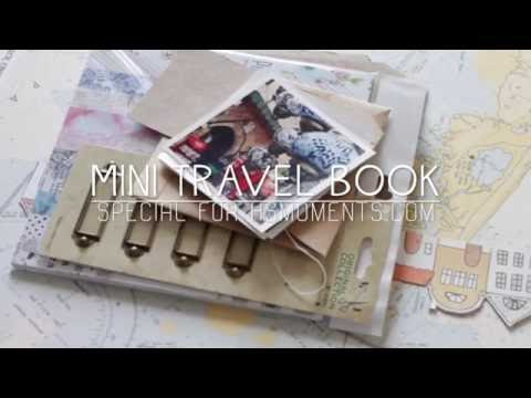 Mini travel book tutorial