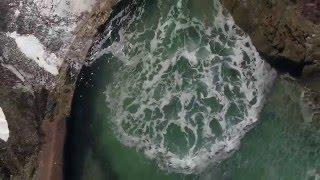 Secret Pools in Laguna Beach, CA - 4K Drone
