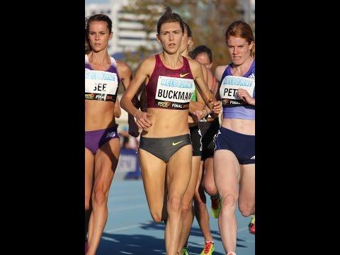 Zoe Buckman wins W 1500m 4:12.57  IAAF Melbourne World Challenge