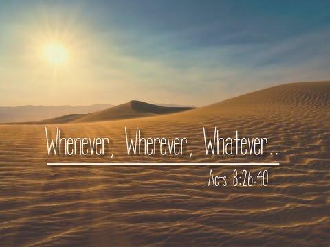 Whenever, Wherever, Whatever