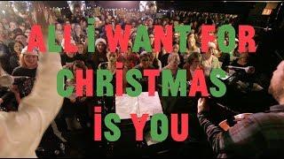 Choir! Choir! Choir! sings Mariah - All I Want For Christmas Is You Video