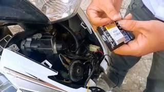 Hướng dẫn lắp đặt thiết bị chống trộm xe máy Smartmotor V02 của Viettel Có remote