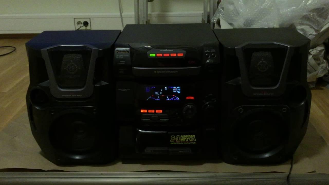 Panasonic Sa-ak40