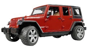 Скачать Внедорожник Jeep Wrangler Unlimited Rubicon 02 525 Bruder