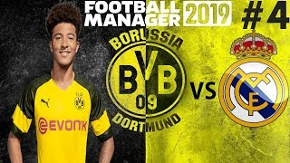 Newly created Fifa video from FootyManagerTV: MASSIVE GAME VS REAL MADRID | Borussia Dortmund Career Mode | Football Manager 2019 Let's Play #4