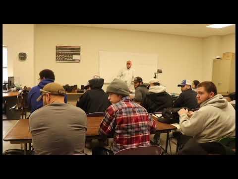 part 1. We got asked to come talk to Dodge City CC welding program.