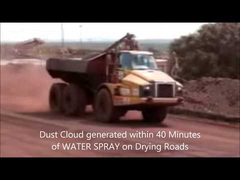 DUSTRON - Syntron Dust Control Iron Ore Mines  Haul Roads South Africa