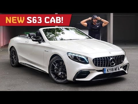 Mr AMG On The New S63 Cabriolet! AMG's Most Brutal Drop Top!!