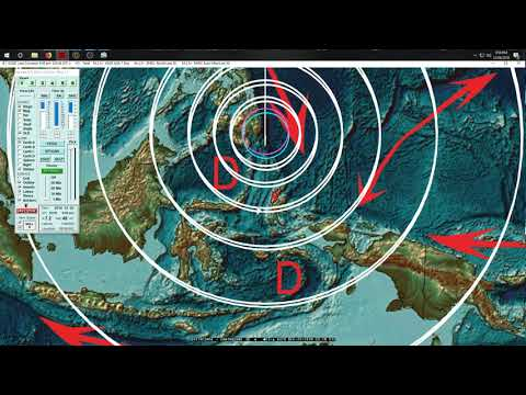 12/28/2018 -- Large M7.0 Earthquake strikes Indonesia / Philippines -- DIRECT FORECAST HIT