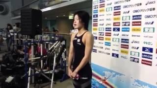 ジャパンオープン2012:大塚美優(女子400m個人メドレー)