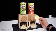 How to Make a Pringles Dispenser at Home In 2017